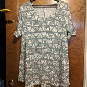 LuLaRoe Perfect T - L, Women's
